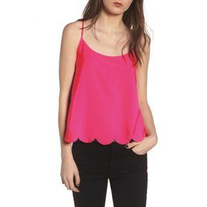 3 for $25 NWT BP Scallop Pink Cami Tank Top